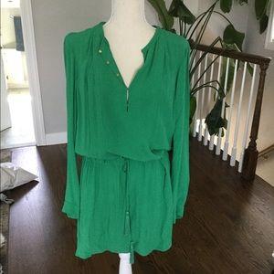 DVF shirt dress. size 4